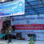 English Festival of Padang Junior High School 2015 di SMP Negeri 12 Padang